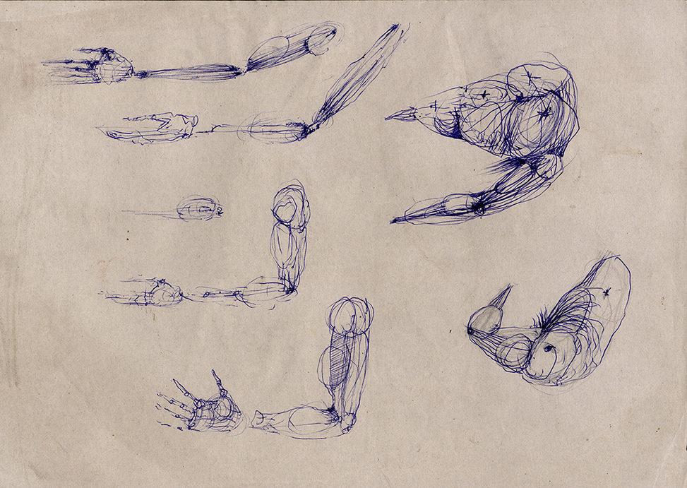 Körper Fragmente, © Simone Schmidt, 1992